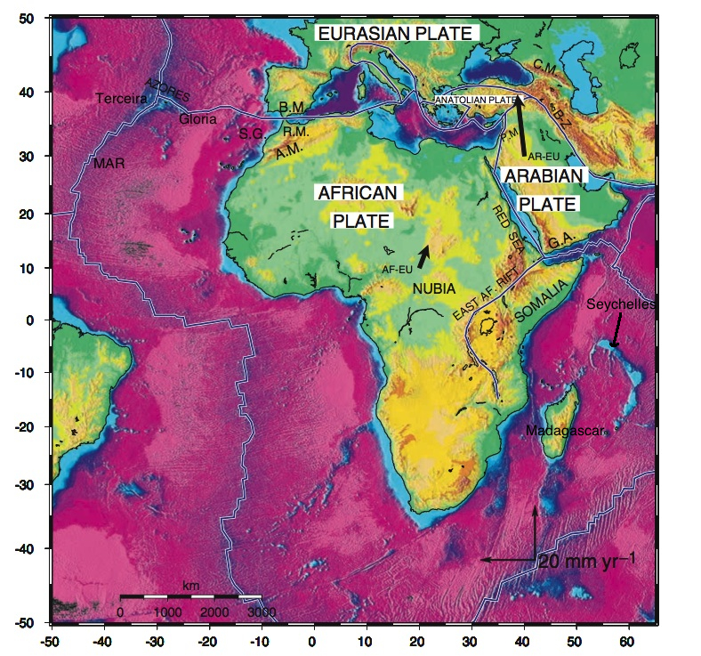 Africanarabian tectonic plates home figure 1 overview of the african and arabian tectonic plate region modified after mcclusky et al 2003 gumiabroncs Choice Image
